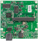 RB411L RB/411L Mikrotik RouterBOARD 411 with 300MHz Atheros CPU, 32MB DDR RAM, 1 LAN, 1 miniPCIe, NAND, RouterOS L3