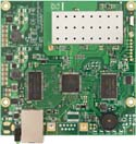 RB711-5Hn-M Mikrotik RouterBOARD 711 with Atheros AR7240 400MHz CPU, 32MB DDR RAM, 5GHz 802.11a/n radio, and RouterOS L3