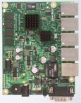 RB/850G RB850Gx2 Mikrotik RouterBOARD 850G with 500MHz Dual Core PPC CPU, 512MB RAM, 512MB FLASH, 5 10/100/1000 ethernet ports, RouterOS L5 - New!