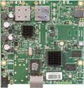 RB911G-5HPacD (Export version) Mikrotik RouterBOARD 911G with Atheros AR9557 720MHz CPU, 128MB DDR RAM, 5GHz 802.11ac dual chain radio, and RouterOS L3 - New!