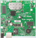 RB911G-5HPnD Mikrotik RouterBOARD 911G with Atheros AR9342 600MHz CPU, 32MB DDR RAM, 5GHz 802.11a/n dual chain radio, and RouterOS L3