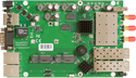 RB953GS-5HnT-RP Mikrotik RouterBOARD 953G with 720MHz Atheros Scorpion CPU, 128MB RAM, 3 10/100/1000 ethernet ports, a triple chain 802.11a/n radio, RouterOS L5 - New!