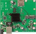RBM11G Mikrotik RouterBOARD M11G with MediaTek MT7621 Dual Core 880MHz CPU, 256MB DDR RAM, 1 Gigabit LAN, 1 miniPCIe, 1 SIM card slot, 16MB NAND with RouterOS L4 - New!