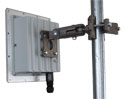 Assembled Outdoor Radio - ARC Wireless 5GHz 20dBi antenna, LED window, Mikrotik RouterBoard, radio, and POE supply