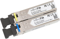 6COM Pair of single mode SFP modules, 6C-WDM-0220AID + 6C-WDM-0220BID with dual LC-type connectors and DDM