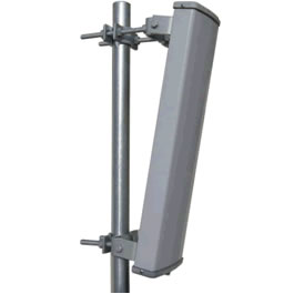 4.9 to 5.8GHz 16dBi Standalone 120 Degree V Pol Sector Antenna with N-female jack - Laird model S49016120PNF