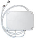 "ARC-PA2407S01  ARC Wireless 2.4GHz 6.5dBi 90 Degree Wall Mount Indoor dual Sector Panel-- (dual 36"" LMR195 with RPTNC Male Connectors)"