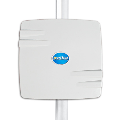 ITelite 5GHz at 21dBi Panel Enclosure Antenna Solution designed for Mikrotik RouterBoard 411, 711, or 433