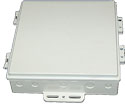 DCE10-H-001 HD RooTenna� DCE-10x10x2 hinged die-cast enclosure only