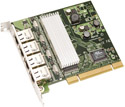 IN/G44 Mikrotik RouterBOARD RB44G PCI 4-port Gigabit Ethernet adapter (Realtek RTL8169 Chipset) - EOL (End of Life)