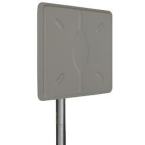 Laird 19dBi 5.1-5.8GHz Flat Directional Wideband Panel Antenna with N-female jack