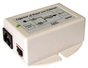 POE-18i  Pacific Wireless 18vdc, 16 watt switching power supply with POE