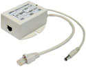 POE-24s-afi Laird / Pacific Wireless 24vdc, .5amp (12w) active 802.3af POE splitter with isolation