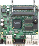 RB/112 RB112 Mikrotik RouterBOARD 112 with 175MHz MIPS CPU, 16MB SDRAM, 1 LAN, 2 miniPCI slots, 64MB NAND, RouterOS L4 - EOL (End of Life)