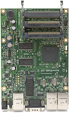 RB/333 RB333 Mikrotik RouterBOARD 333 with PowerPC E300 266/333MHz CPU, 64MB DDR RAM RouterOS L4 - EOL (End of Life)