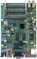 RB/433U RB433UAH Mikrotik RouterBOARD 433UAH with Atheros AR7161 680MHz Network CPU, 128MB DDR RAM, USB and RouterOS Level 5
