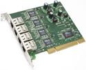IN/G44V Mikrotik RouterBOARD RB44GV PCI 4-port Gigabit Ethernet adapter (VIA VT6122 Chipset)