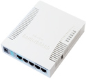 Mikrotik RouterBoard RB/751 RB751  5 port 10/100/1000 switch/router SOHO with 2.4GHz 802.11n high power AP