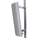 ITelite 5GHz at 17dBi Vertical Sector Enclosure Antenna Solution designed for Mikrotik RouterBoard 411, 711, or 433