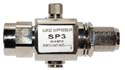 SP3-90-BFM, coaxial lightning protection, 90V-DC to 3GHz, NF to NM .2dB IL typical @3GHz