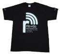 Mikrotik RouterBoard rOc-nOc custom Black T-Shirt, Gildan Ultra 100% Cotton, Pre-Shrunk