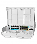 Mikrotik netPower 15FR (CRS318-1Fi-15Fr-2S-OUT) - An outdoor 18 port switch with 15 reverse PoE ports and SFP - New!
