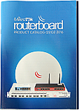 Mikrotik RouterBoard Brochure Q1/Q2-2016 Color Catalog showing all current and new Mikrotik Products