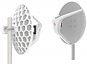 Mikrotik Wireless Wire Dish (RBLHGG-60ad) LHG 60G – a high-speed 60 GHz CPE point-to-multipoint unit - New!
