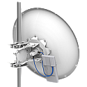 Mikrotik mANT30 5GHz 30 dBi Dual Polarity Parabolic Dish antenna with precision alignment mount - Coming Soon!