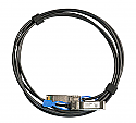Mikrotik 1m direct attach cable that supports not only SFP 1G and SFP+ 10G, but also the 25G SFP28 standard! - New!