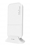 The Mikrotik wAP 60G (RBwAPG-60ad) is weatherproof integrated 60 GHz wireless unit, that can be used indoors or outdoors in different scenarios - Point-to-Point or CPE