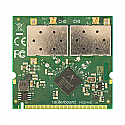 R52HnD Mikrotik 802.11a/b/g/n High Power 2x2 MIMO MiniPCI card - 400mw output Atheros chipset - New!