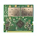 R52HnD Mikrotik 802.11a/b/g/n High Power 2x2 MIMO MiniPCI card - 400mw output Atheros chipset - New!