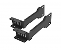 OEM Mikrotik Rack Mount Kit for RB4011 Router - black finish with screws